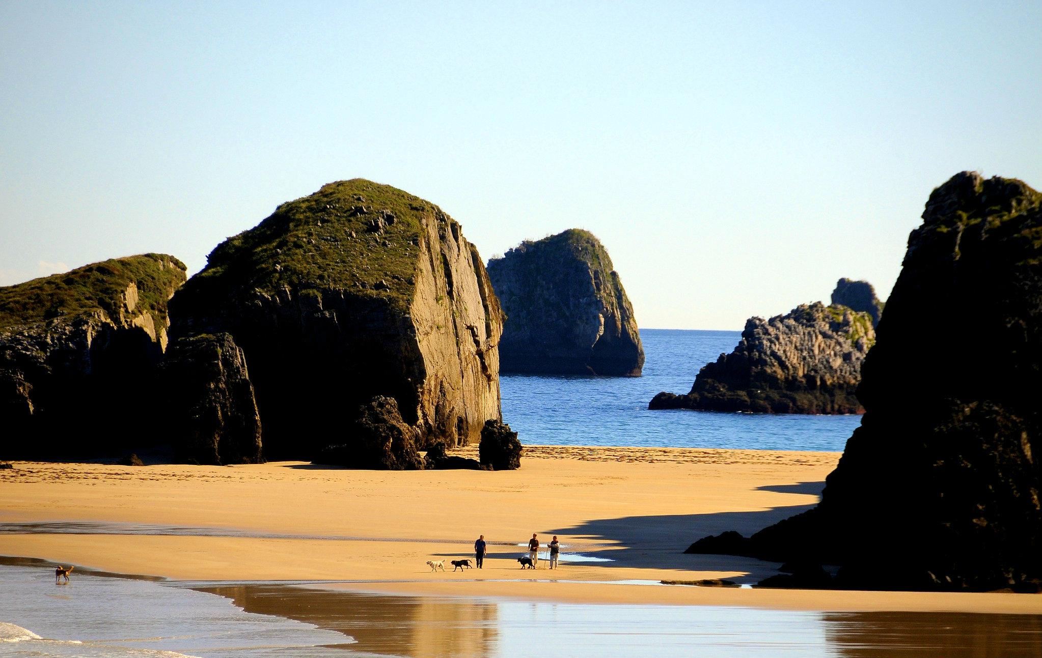 ✔ 7 playas Nudistas de una belleza extraordinaria en Llanes… imprescindibles si practicas naturismo